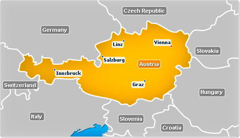 Austria map