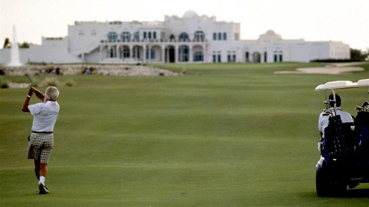Sheraton (Club Room) Facilities Doha Golf Course