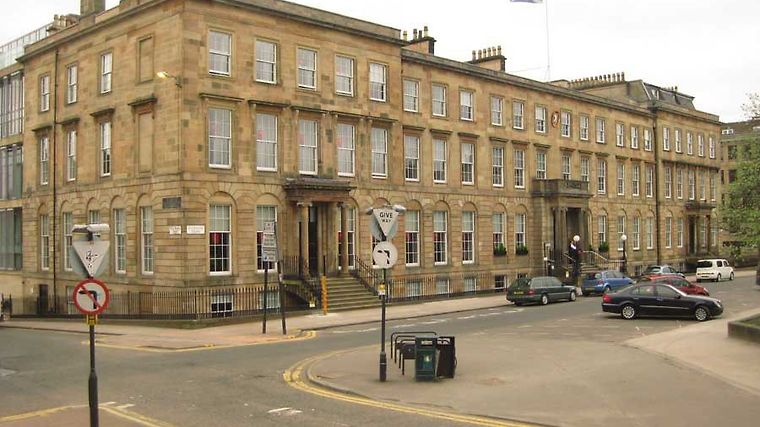 Blythswood Square Hotel Exterior