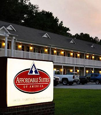 Affordable Suites Of America Fredericksburg photos Exterior