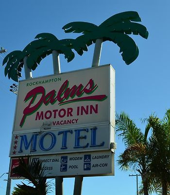 Rockhampton Palms Motor Inn photos Exterior Hotel information