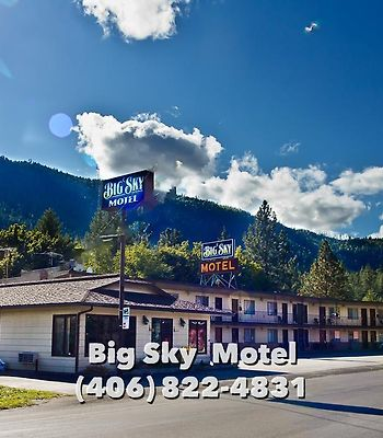 Big Sky Motel photos Exterior Big Sky Motel