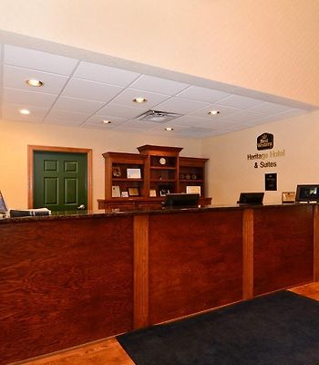 Best Western Plus Heritage Hotel & Suites photos Interior Hotel Reception Desk