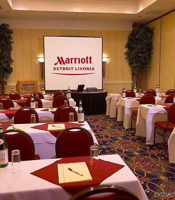 Detroit Marriott Livonia photos Exterior