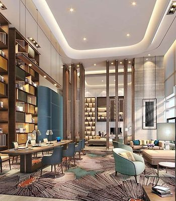 Hilton Jinan South Hotel & Residences photos Interior Lobby Lounge Library