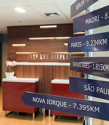 Tryp By Wyndham Sao Paulo Guarulhos photos Interior Mile Marker in Lobby