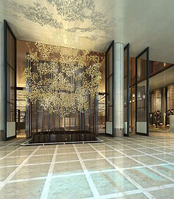 Meixi Lake Hotel A Luxury Collection Hotel Changsha photos Interior Hotel Lobby - Rendering
