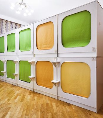 Capsule Hostel In Moscow photos Exterior Hotel information