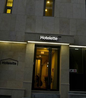 Hotelette photos Exterior Hotel information