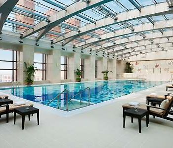The Imperial Mansion, Beijing Marriott Executive Apartments photos Exterior Outdoor pool