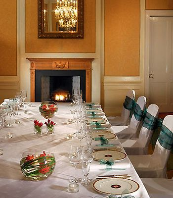 Dalmahoy Hotel & Country Club photos Restaurant Boardroom - Private Dining Setup