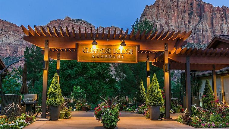 Superb °HOTEL CLIFFROSE LODGE AND GARDENS SPRINGDALE, UT 3* (United States)   From  US$ 183 | BOOKED Idea