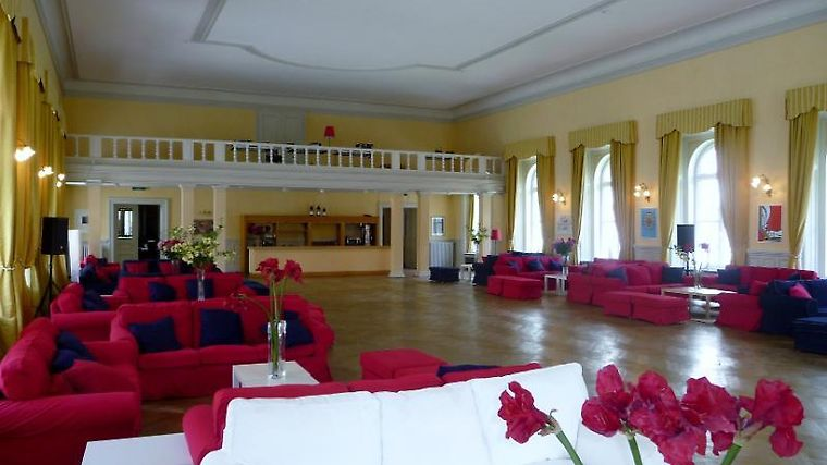 Maloja Palace Interior