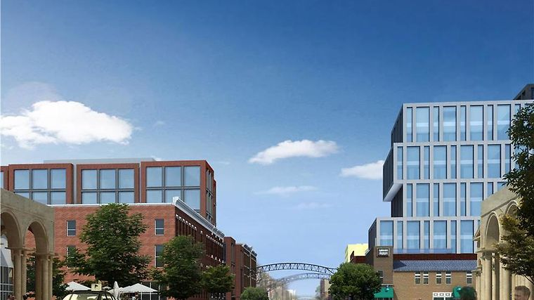 Le Meridien Columbus, The Joseph Exterior Located in the heart of the Columbus Arts - Entertainment District - Rendering
