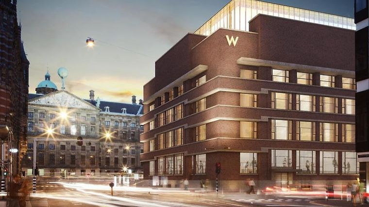 W Amsterdam Exterior W Amsterdam Exterior - Spuistraat - Rendering