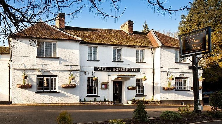 The White Horse Hotel Exterior