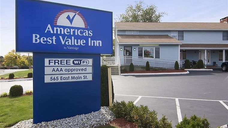 Americas Best Value Inn Exterior Exterior With Sign