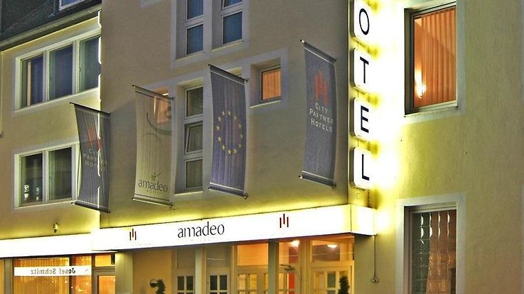 City Partner Hotel Amadeo Exterior City Partner Hotel Amadeo Mönchengladbach