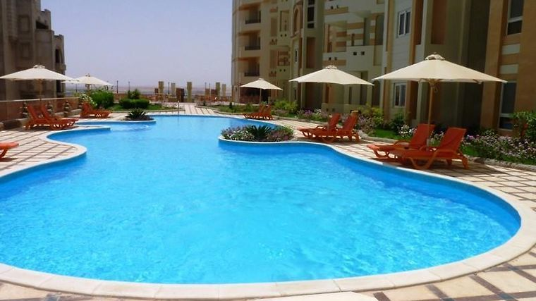El Andalous Aparthotel Facilities Pool View