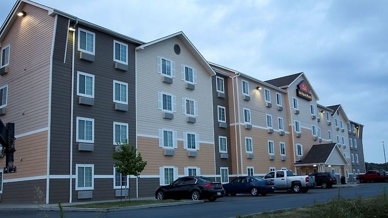 Woodspring Suites Sioux Falls Exterior ExtPanoramaDusk