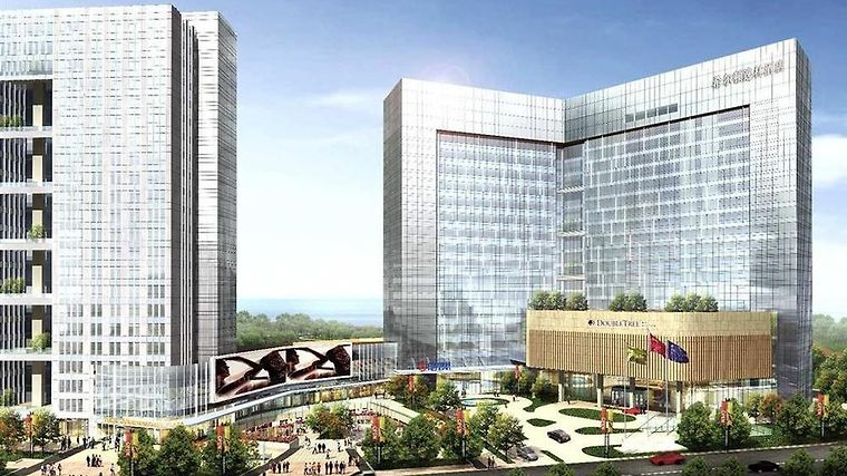 Doubletree By Hilton Hotel Xiamen-Wuyuan Bay Exterior Exterior Day View