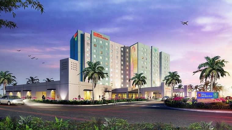 Homewood Suites Miami Dolphin Mall Exterior Hotel Exterior