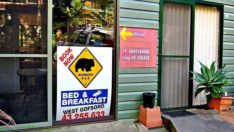 Wombats B&B Apartments Exterior
