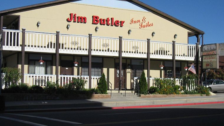 Jim Butler Inn And Suites Exterior