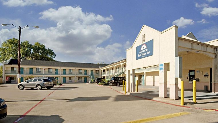 Americas Best Value Inn Mckinney Exterior