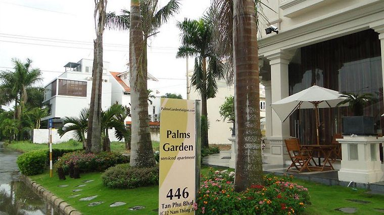 Palms Garden Saigon Apartment & Hotel Exterior