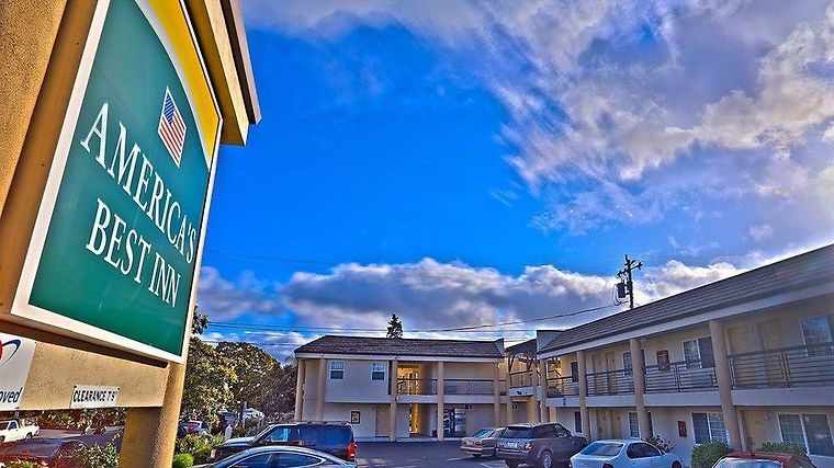 Americas Best Inn And Suites Redwood City Exterior
