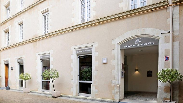 Best Western Poitiers Centre Le Grand Hotel Exterior