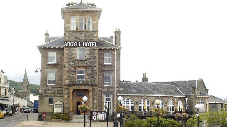Argyll Hotel Dunoon Exterior