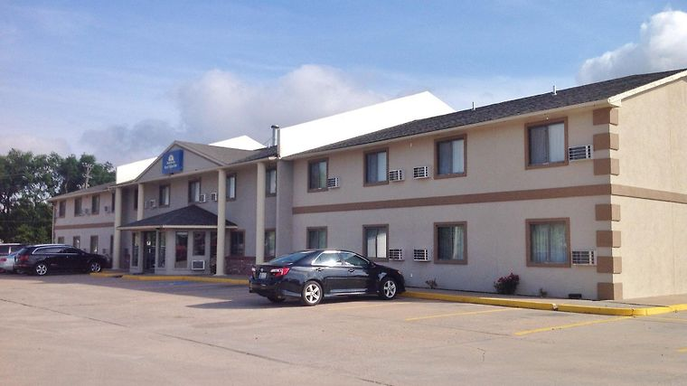 Americas Best Value Inn Great Bend Exterior