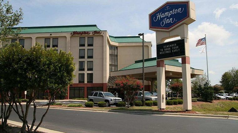 Hampton Inn Elizabeth City Exterior