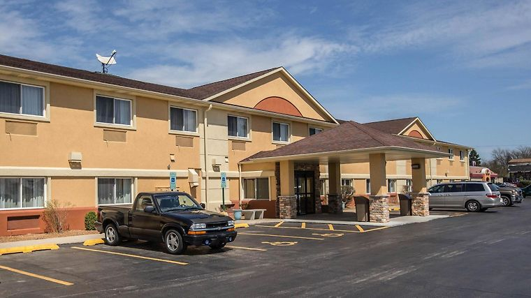 Quality Inn & Suites South Exterior
