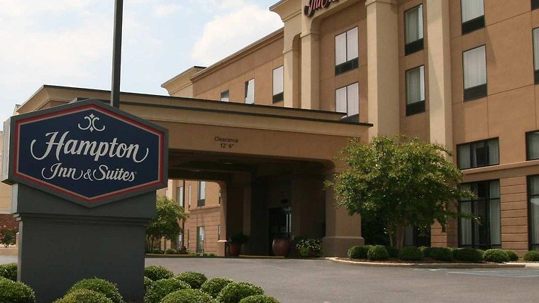 Hampton Inn & Suites Oxford-Anniston Exterior