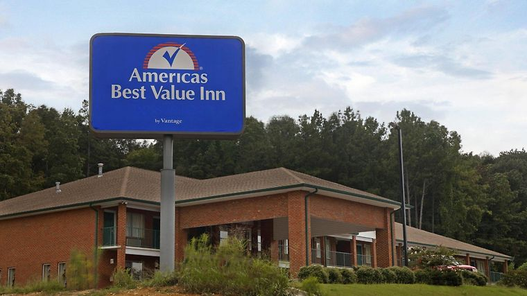 Americas Best Value Inn Leeds Birmingham Exterior