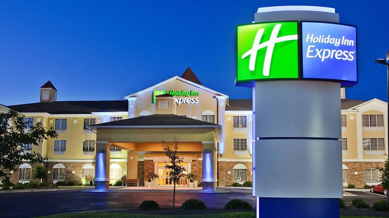 Holiday Inn Express Airport Exterior