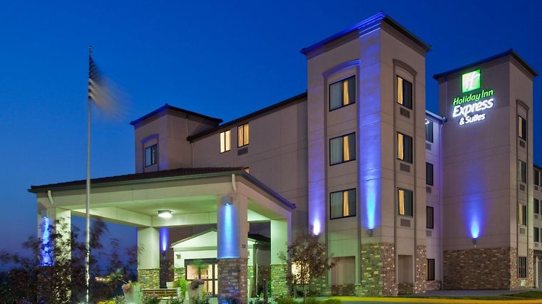 Holiday Inn Express & Suites Omaha Airport Exterior