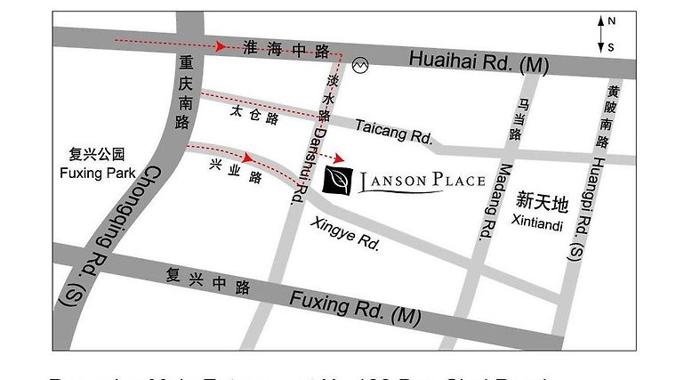 Lanson Place Jinlin Tiandi Serviced Residences photos Exterior