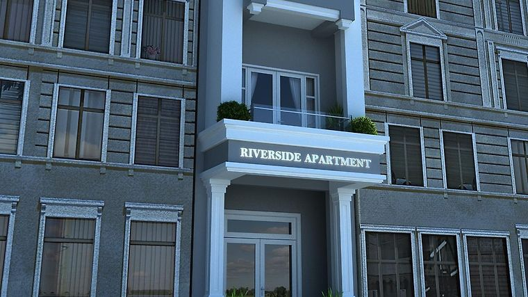 Riverside Apartments Exterior