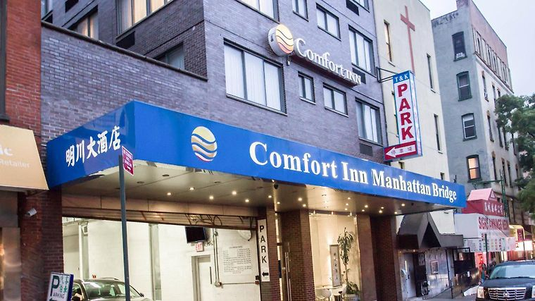 Comfort Inn Manhattan Bridge Exterior