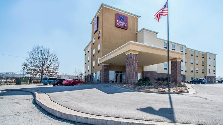 Comfort Suites Columbia - University Area Exterior