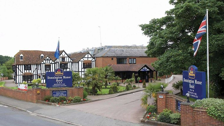 Best Western Plus Donnington Manor Hotel Exterior