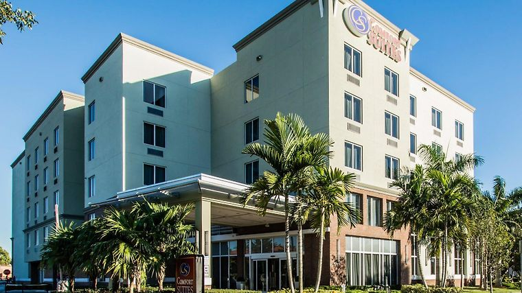 Comfort Suites Miami Airport North Exterior