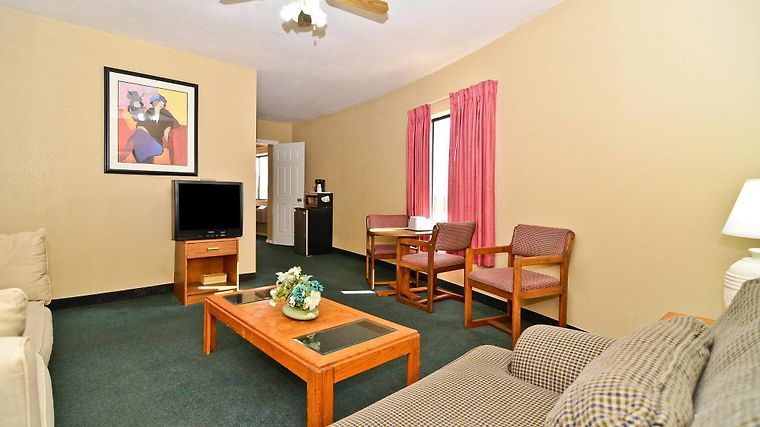 Americas Best Value Inn Kansas Room