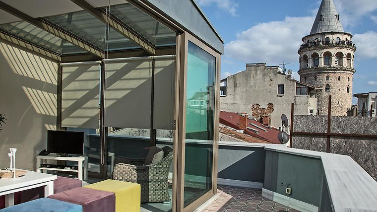 Galata Tower Vip Apartment Suites Exterior
