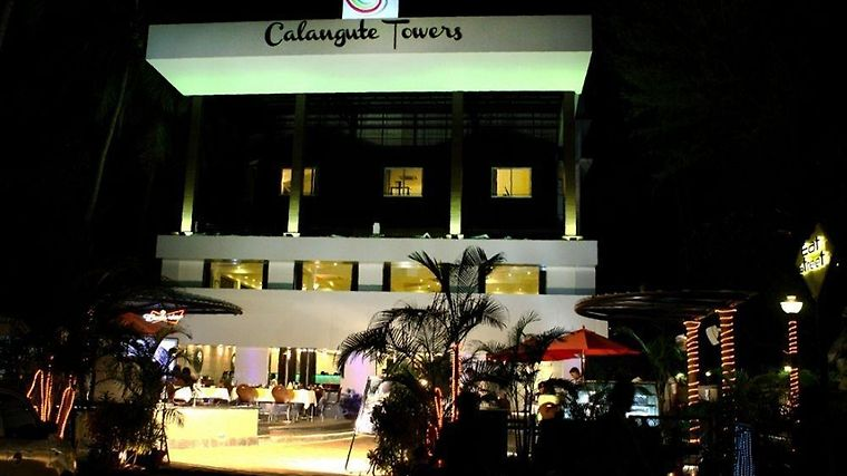 Hotel Calangute Towers Exterior