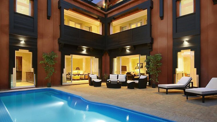 Hotel & Ryads Barriere Le Naoura Exterior